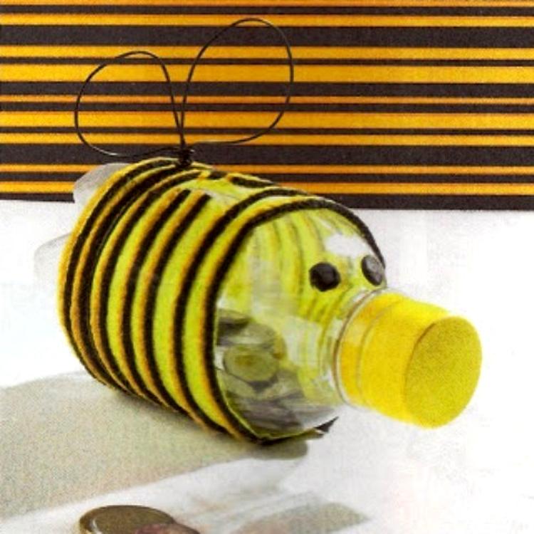 Manualidades Con Botellas De Plastico